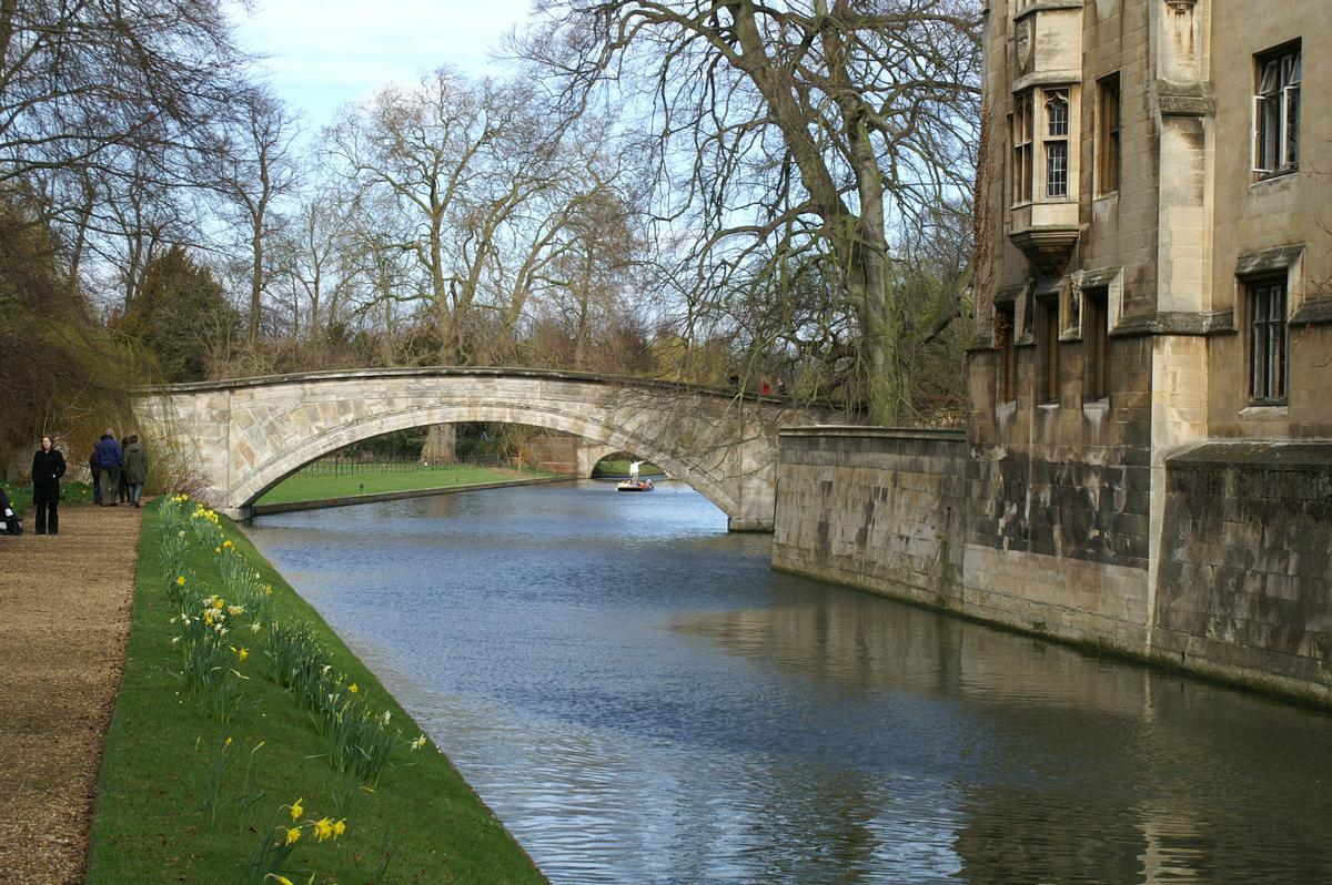 King's College Bridge (Cambridge, 1820)