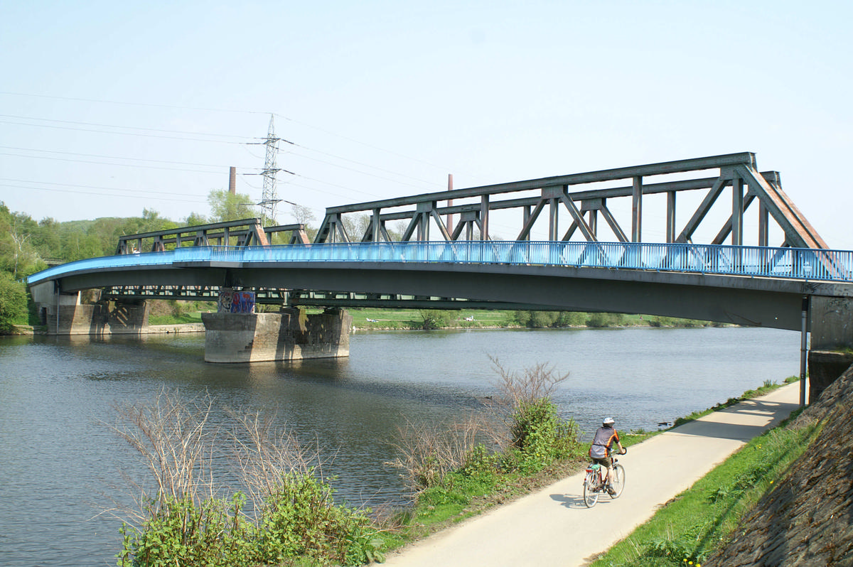 Railroad Bridge & Footbridge, Bochum-Dahlhausen