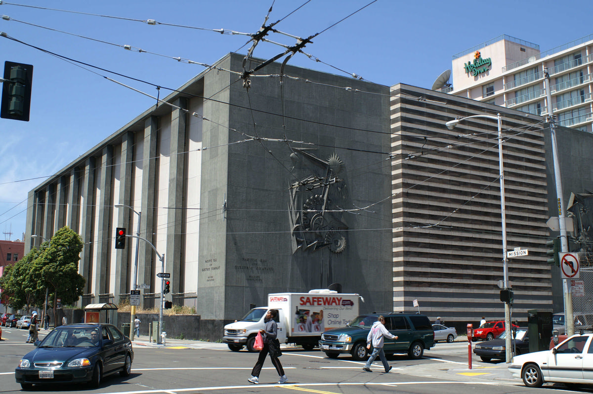 Mission Street Substation, San Francisco