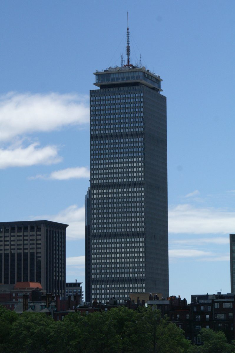 Prudential Tower Boston 1964 Structurae