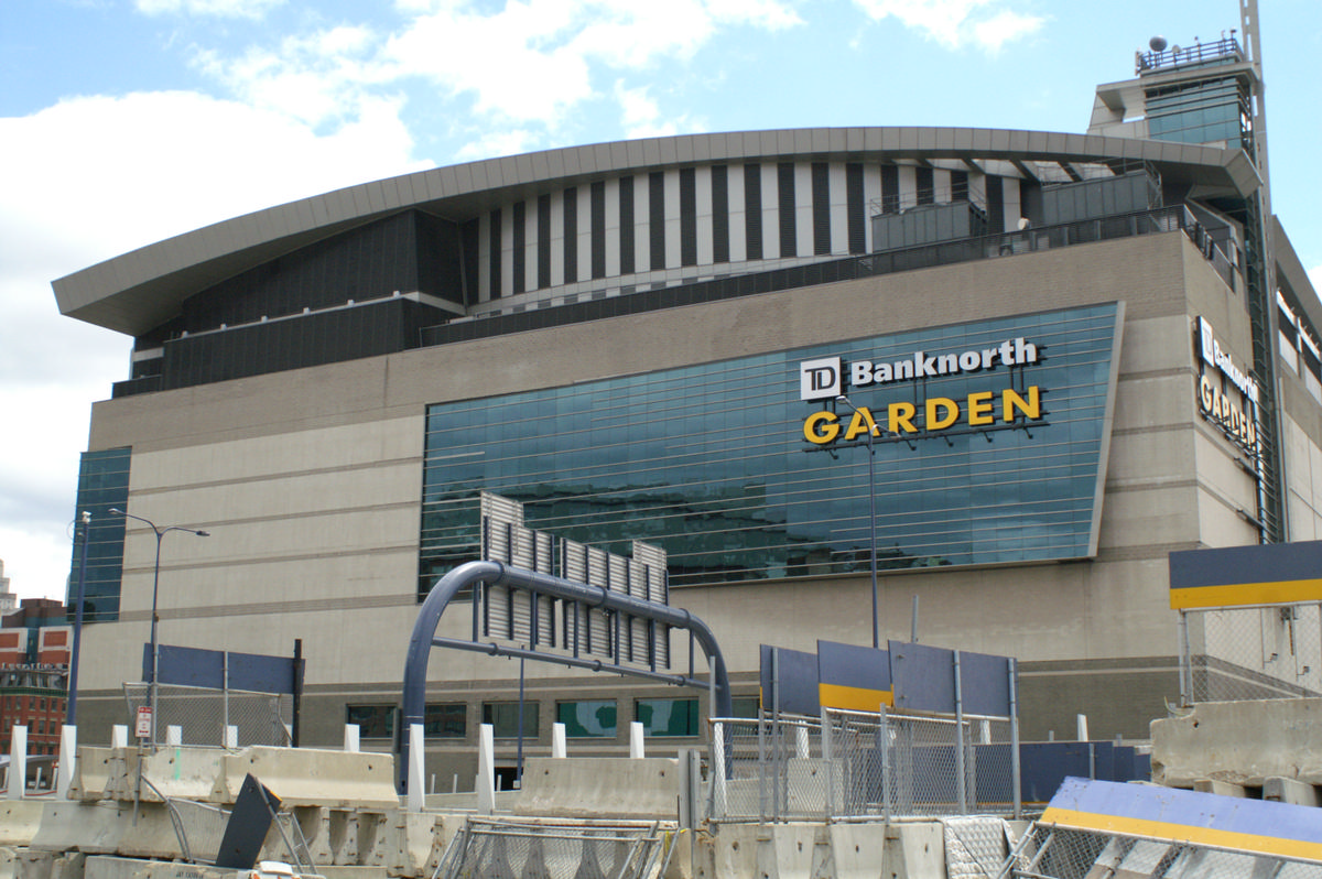 TD Banknorth Garden, Boston