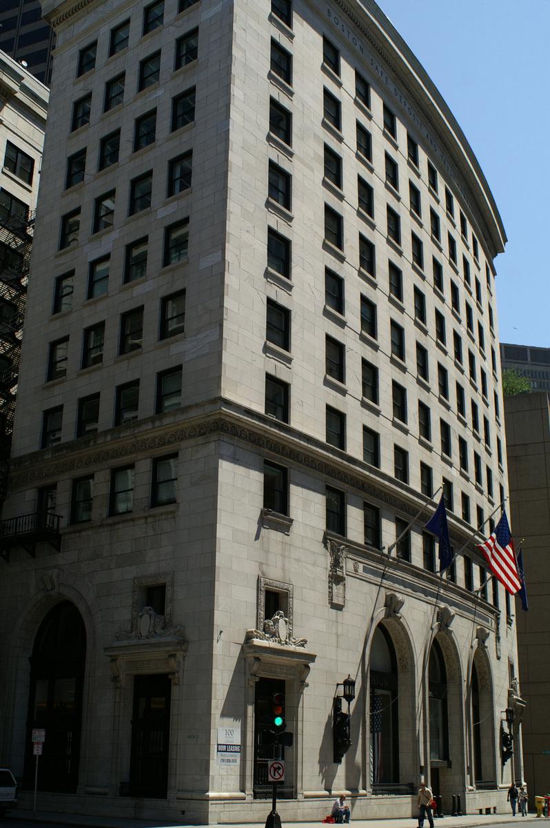 Boston Stock Exchange Boston 1908 Structurae