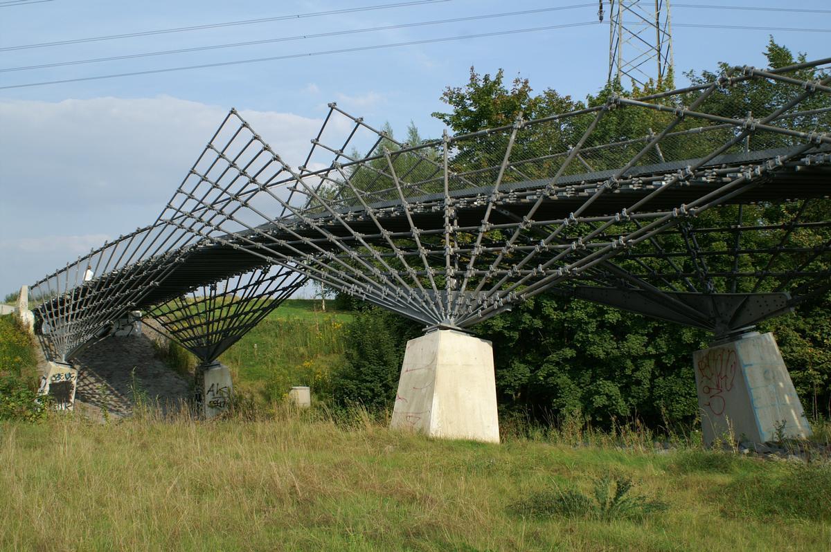 Mechtenbergbrücke Gelsenkirchen.