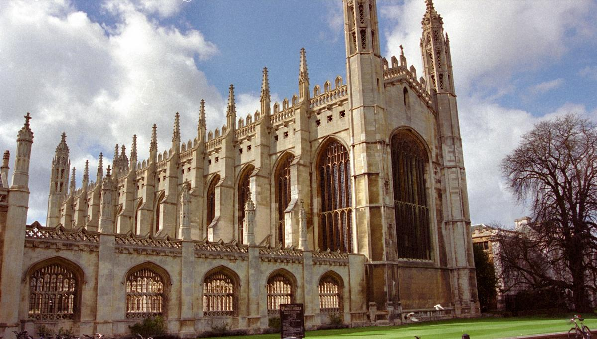 King's College Chapel (Cambridge, 1515)