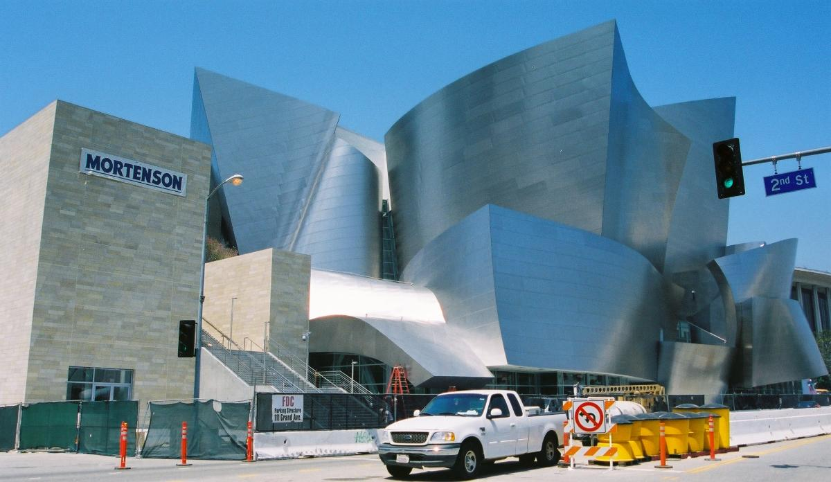 Walt Disney Concert Hall, Los Angeles.