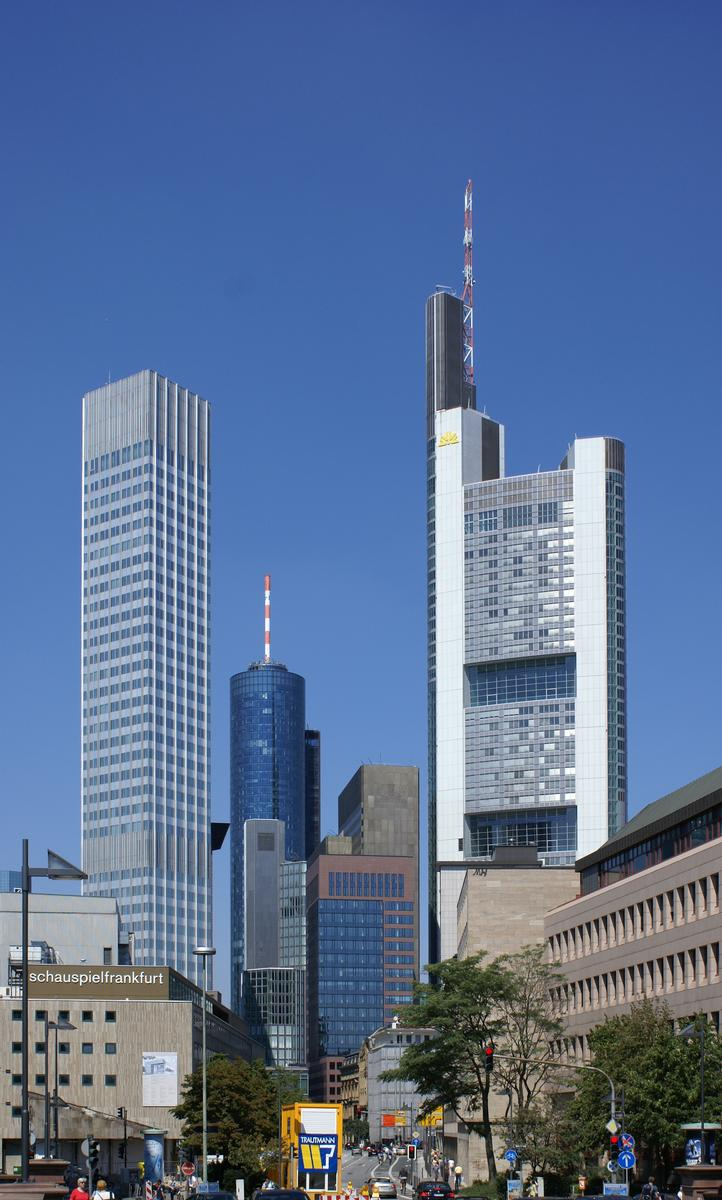 Eurotower & Commerzbank Tower, Francfort