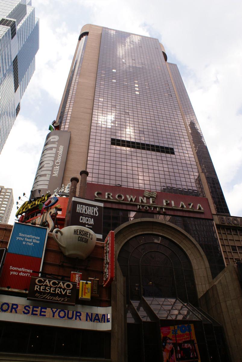 Crowne Plaza Hotel Manhattan 1989 Structurae