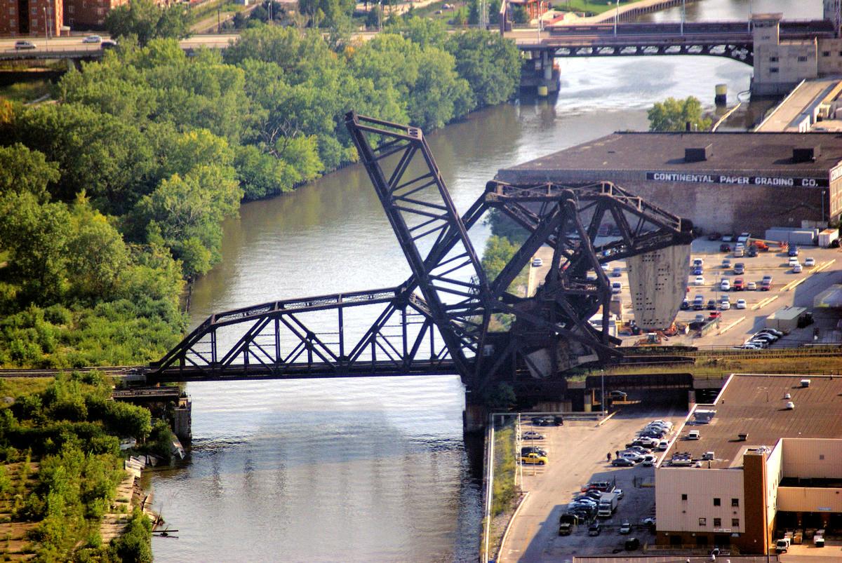 Saint Charles Air Line Bridge & Baltimore & Ohio / Chicago Terminal Railroad Bridge