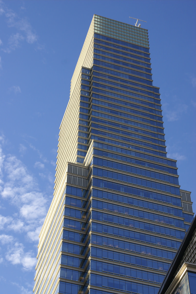 Bloomberg tower manhattan 2005 structurae for Bloomberg tower one beacon court