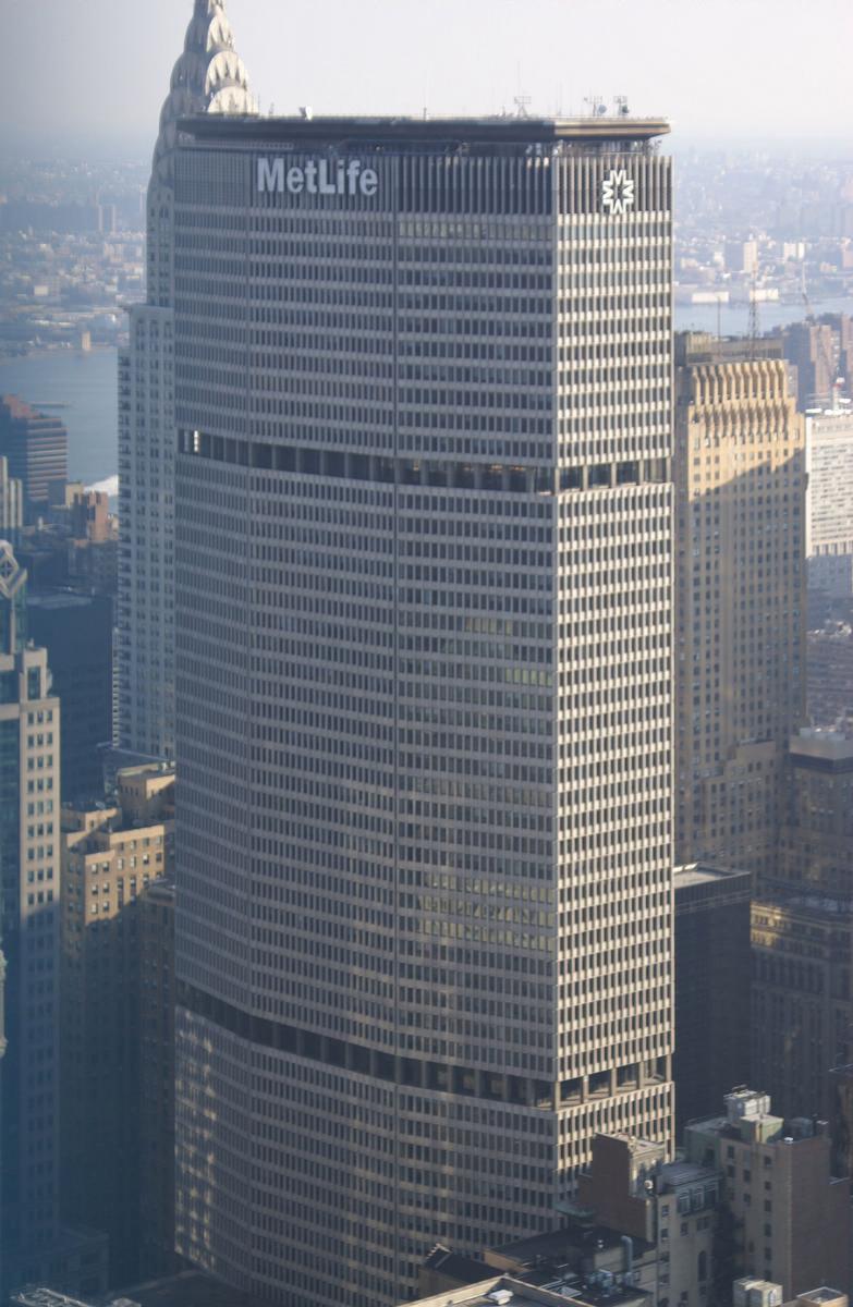 Structurae [en] MetLife Building