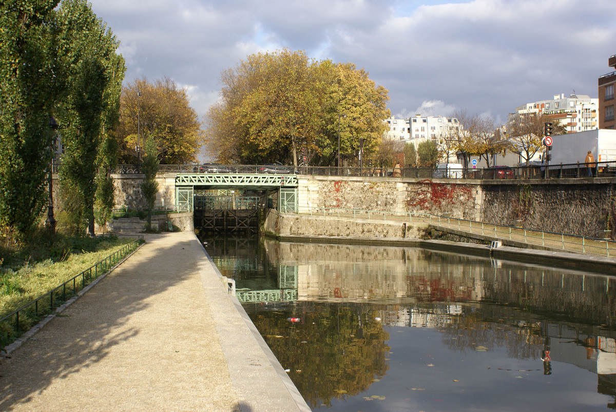 Saint-Martin-Kanal – Pont Eugène-Varlin