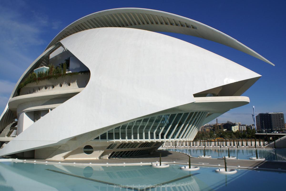 Ciutat de les Arts i les Ciències – Palau de les Arts Reina Sofía