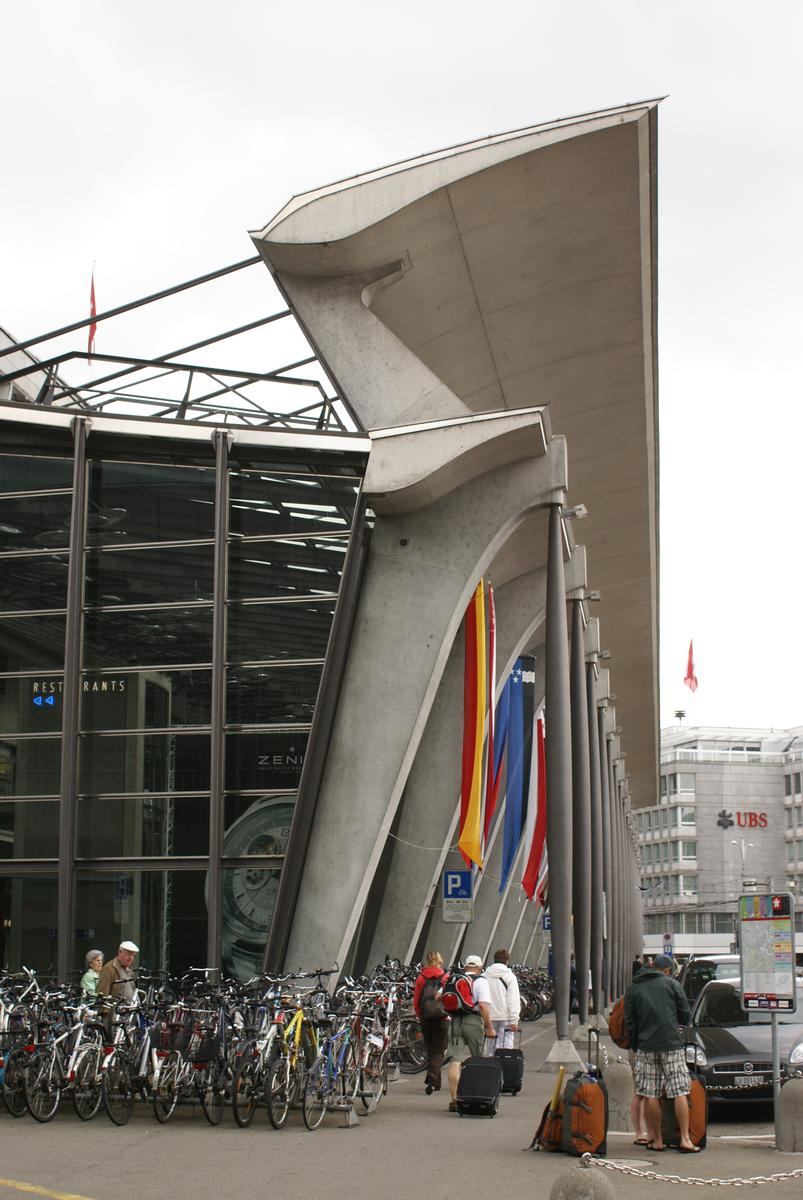Atrium de la Gare de Lucerne