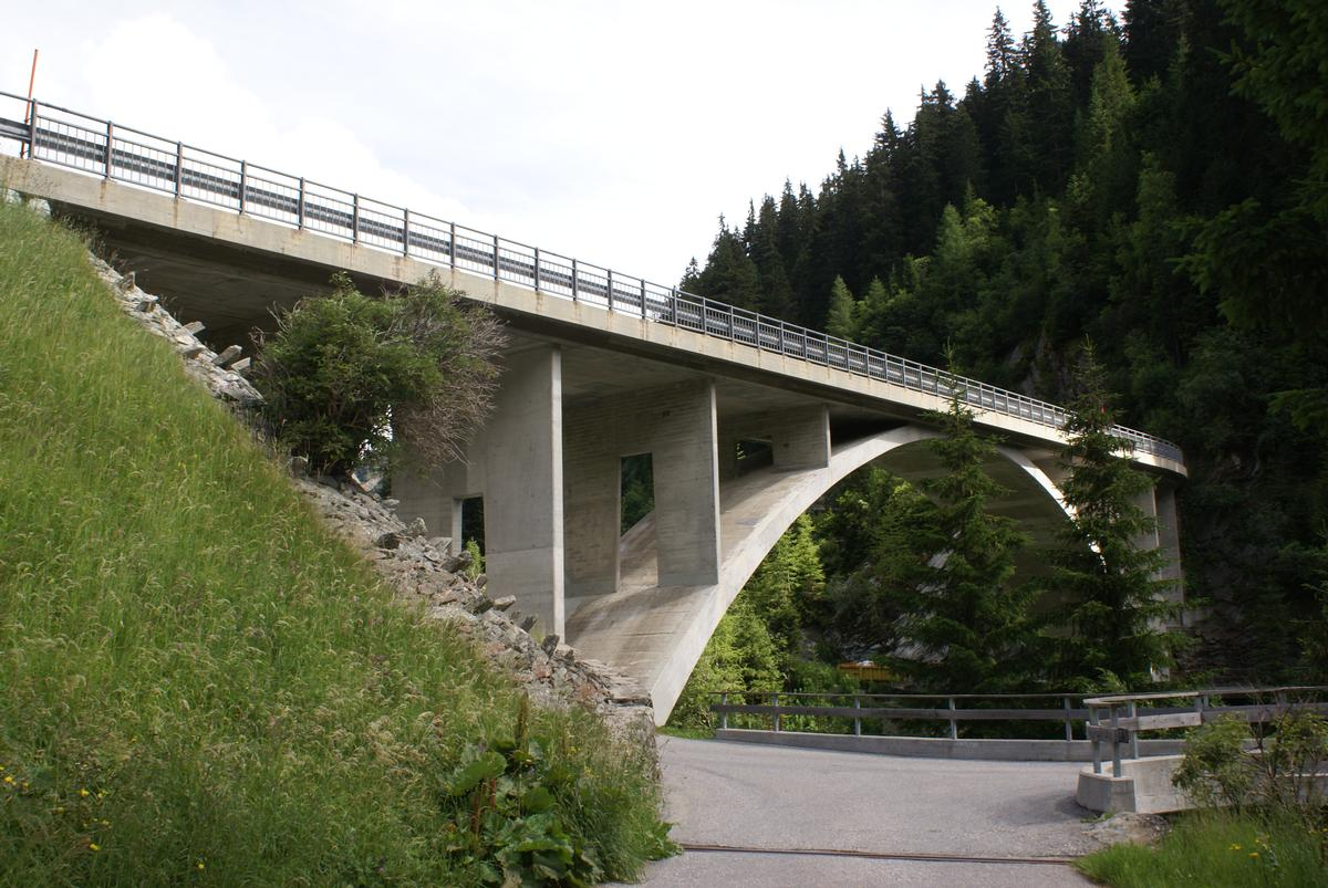 Averserrhein Bridge at Innerferrera