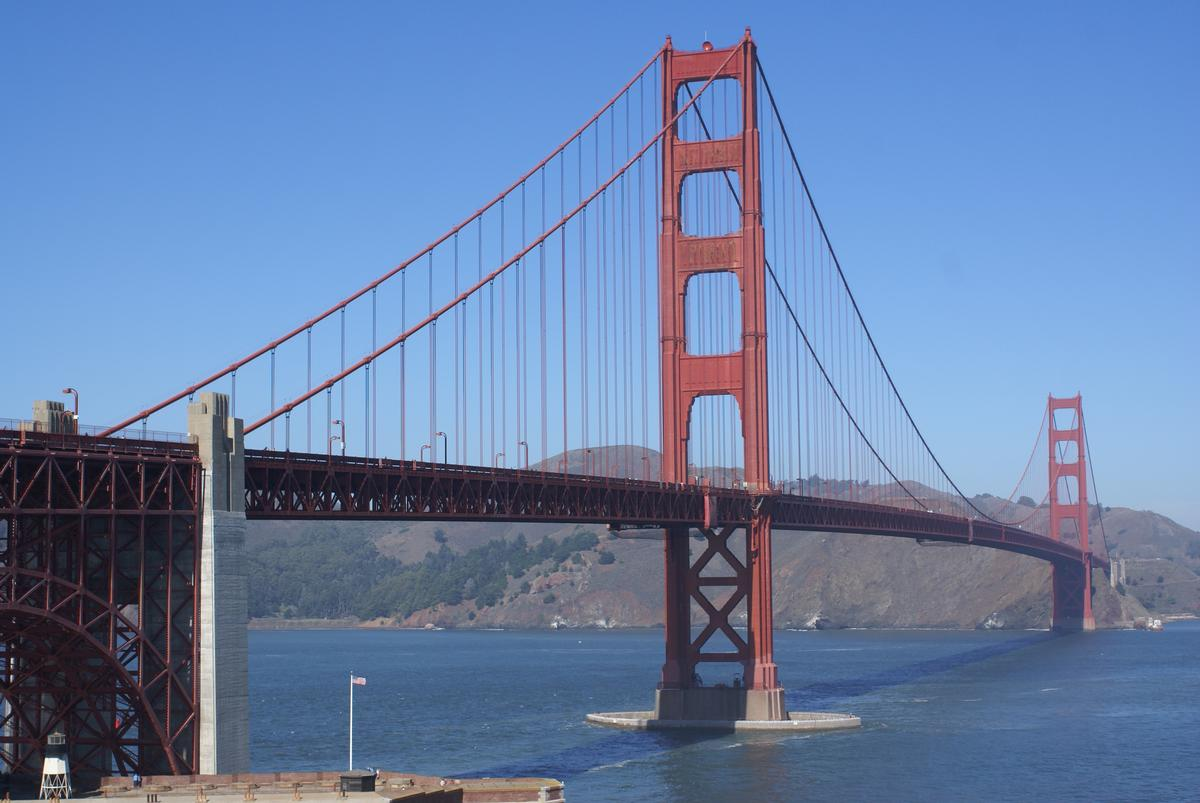 pont du golden gate san francisco 1937 structurae. Black Bedroom Furniture Sets. Home Design Ideas