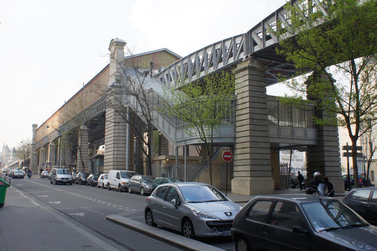Paris Métro Line 6 – Bir-Hakeim Metro Station