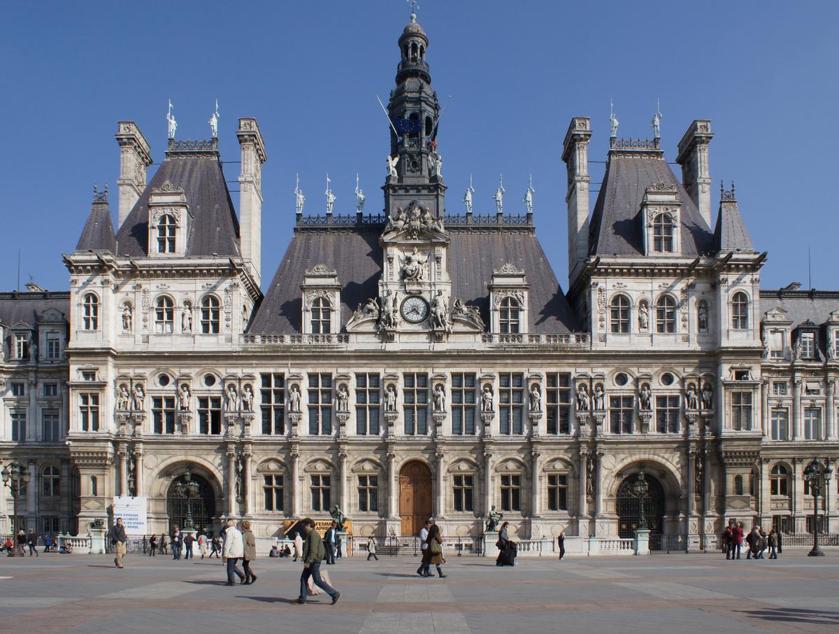 Structurae [fr]: Hôtel de ville, Paris