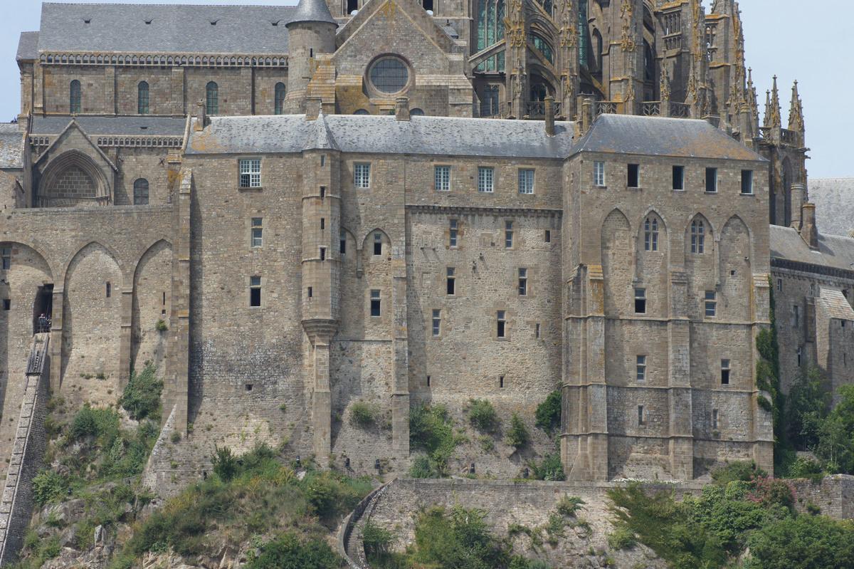 Structurae En Abbaye Du Mont Saint Michel