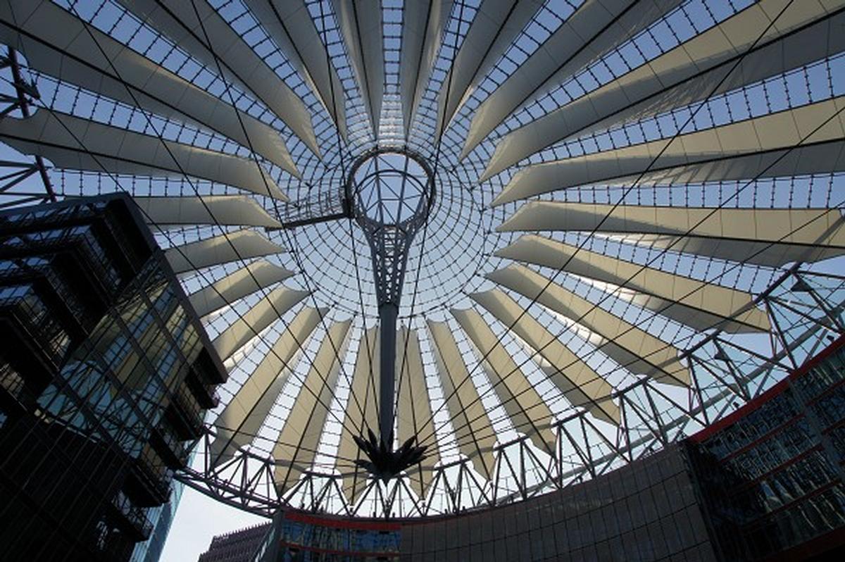 Sony Center Forum Roof