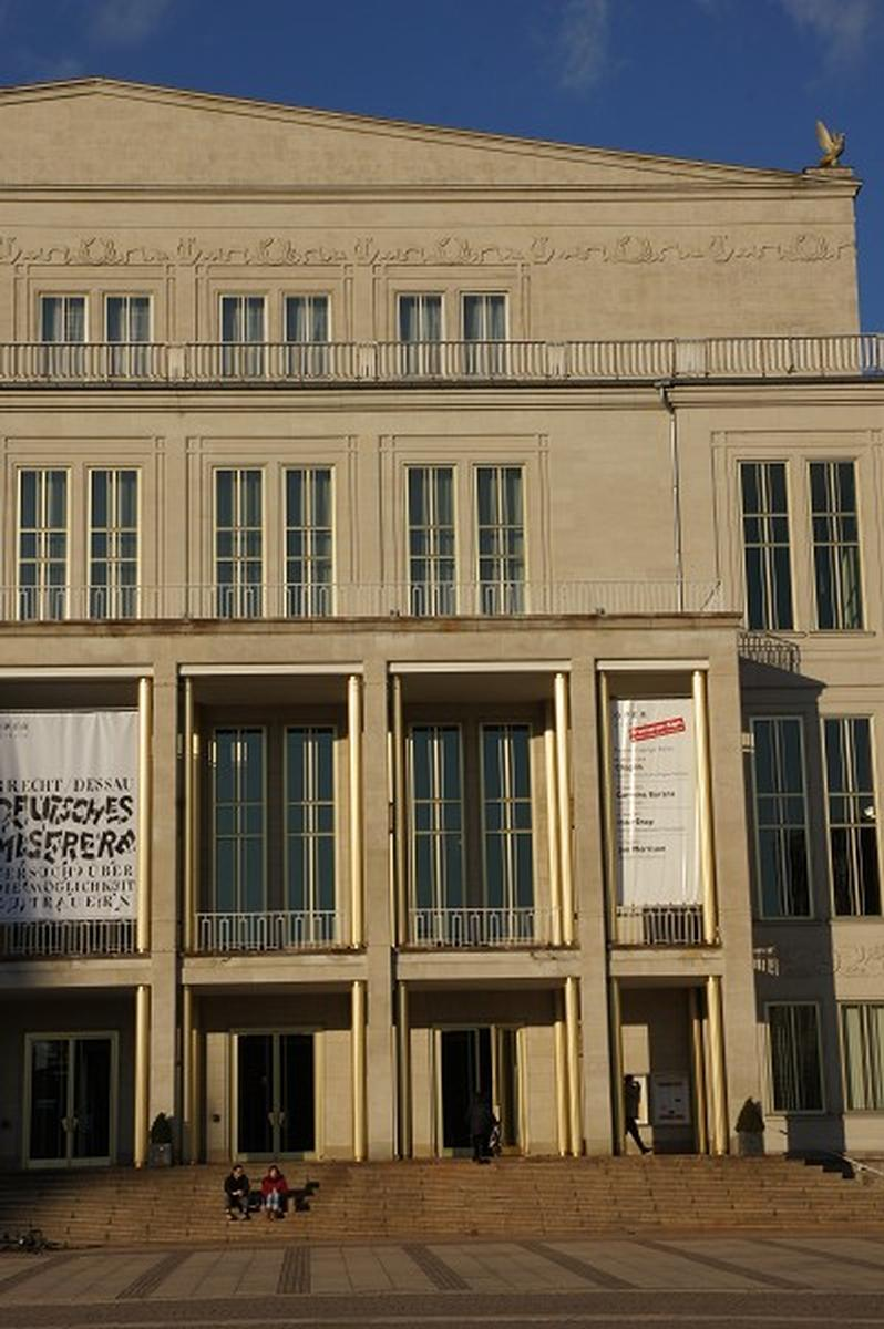 Leipzig Opera House Leipzig 1960 Structurae