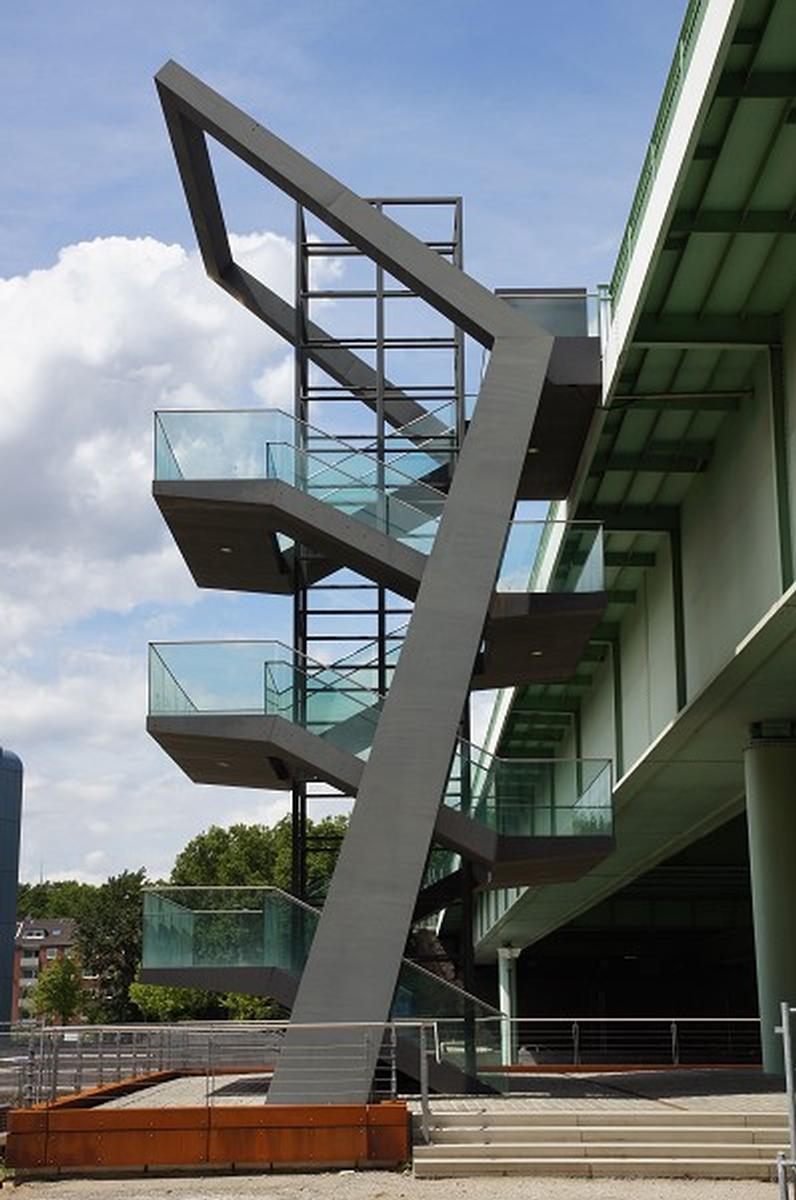 Escalier d'accès au Pont Severin