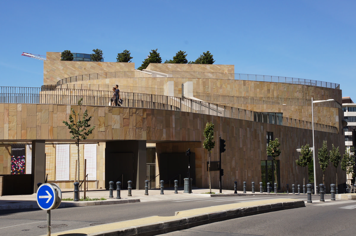 Grand th tre de provence aix en provence 2007 structurae for Theatre salon de provence