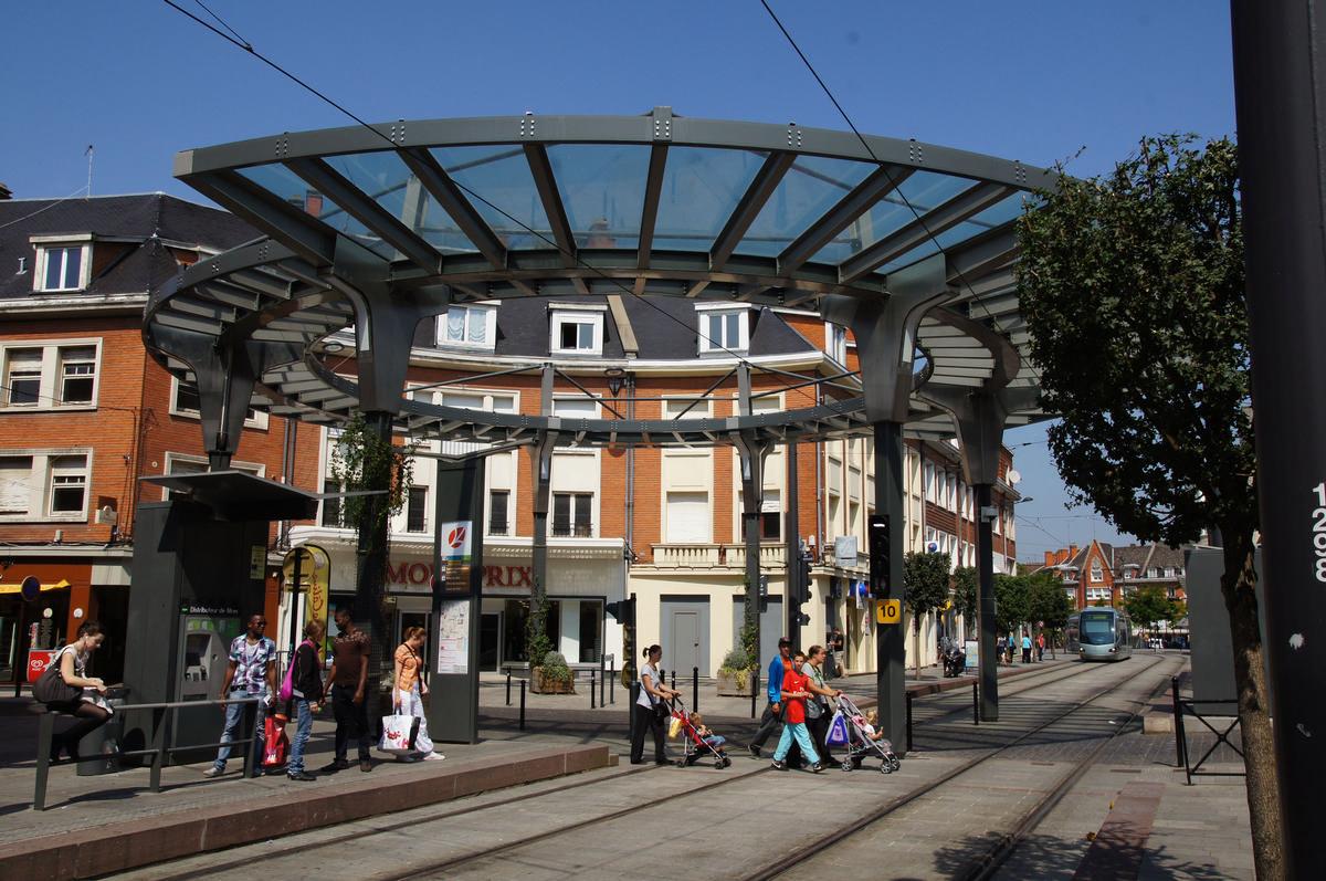 Straßenbahnhaltestelle Hôtel de ville