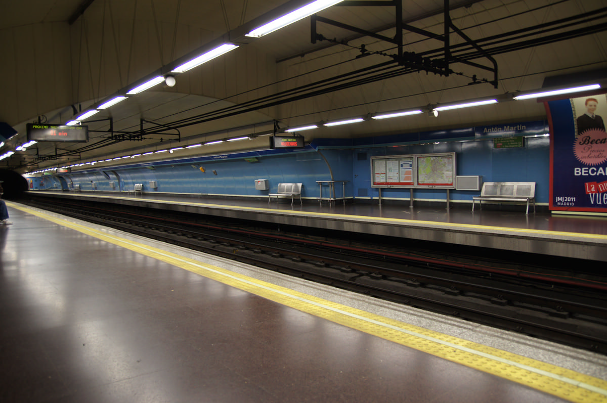 Station de métro Antón Martín
