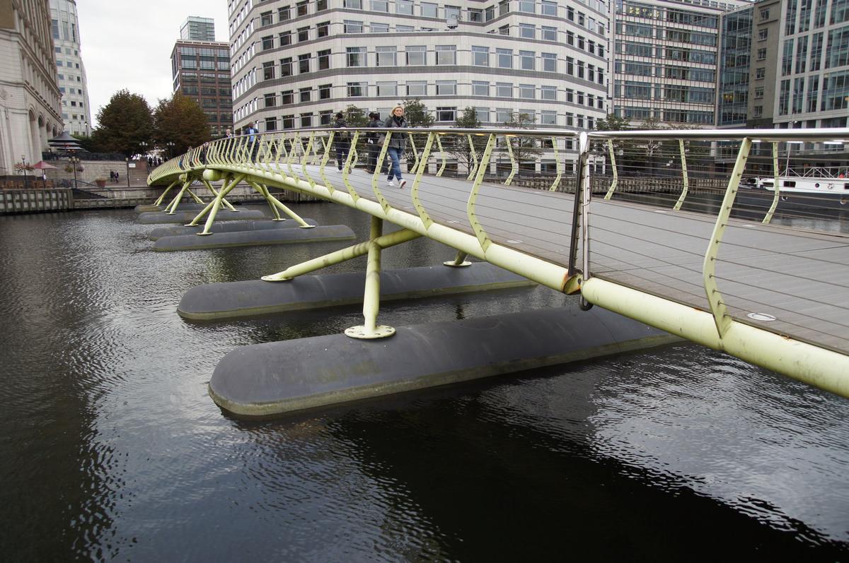 West India Quay Footbridge