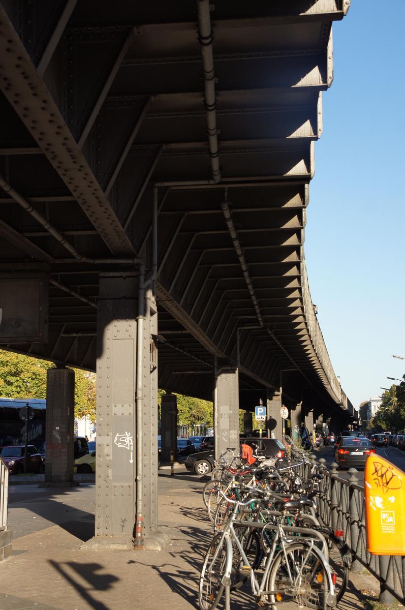 U 1 Subway Line (Berlin) – Hochbahnviadukt Skalitzer Straße (IX)