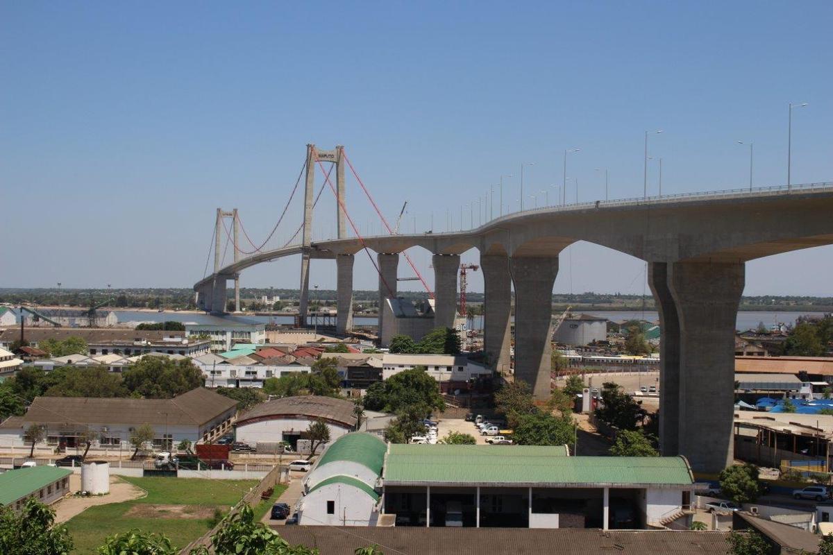 Hängebrücke Maputo-Katembe