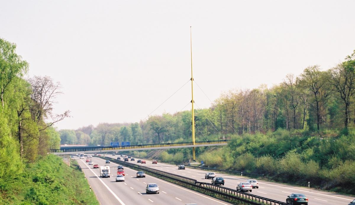 Brücke Forsthausweg (über A3), Duisburg