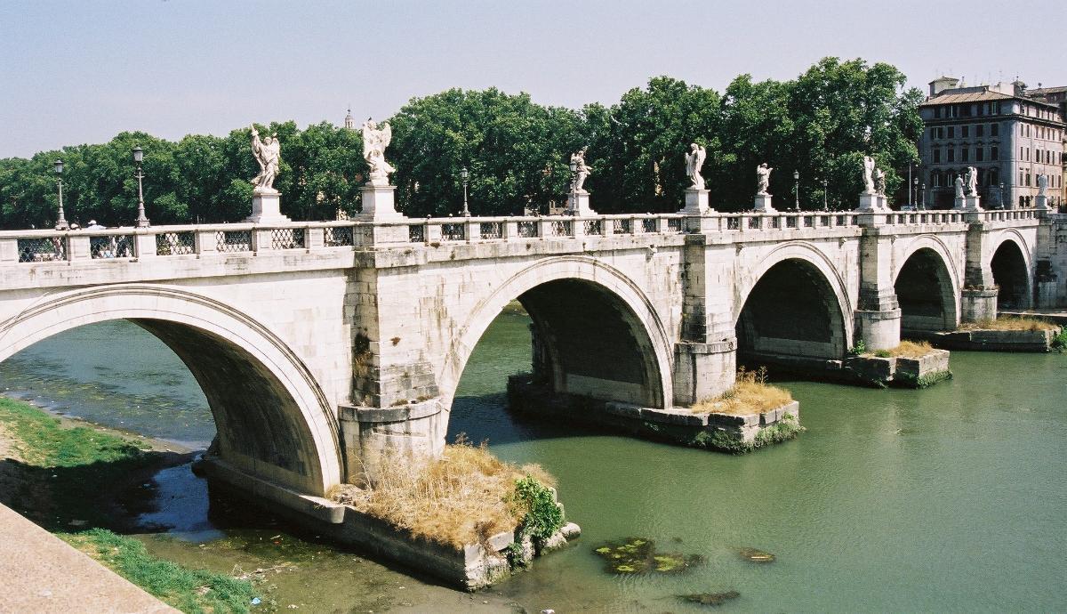 Ponte Sant'Angelo, Rome.