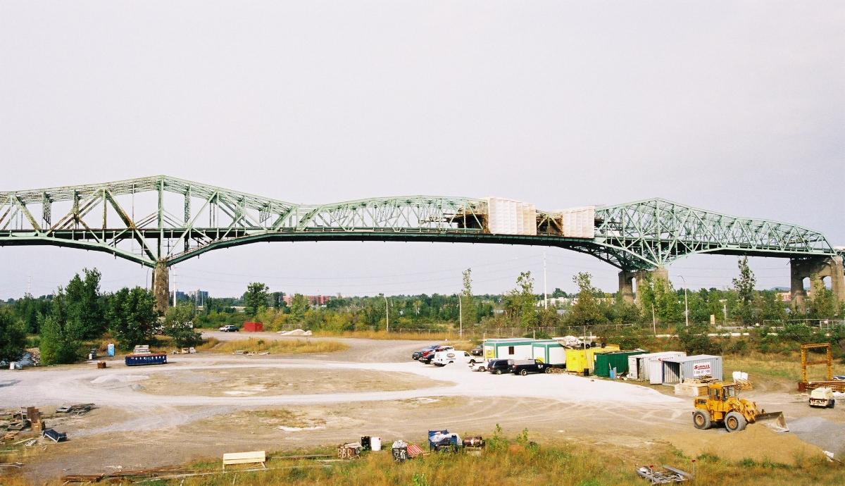Pont Champlain, Montréal, Québec.