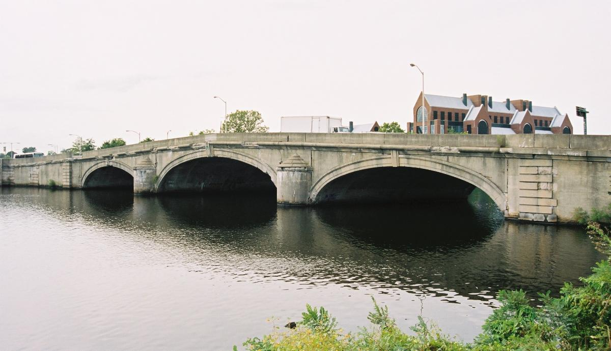River Street Bridge, Boston/Cambridge, Massachusetts.