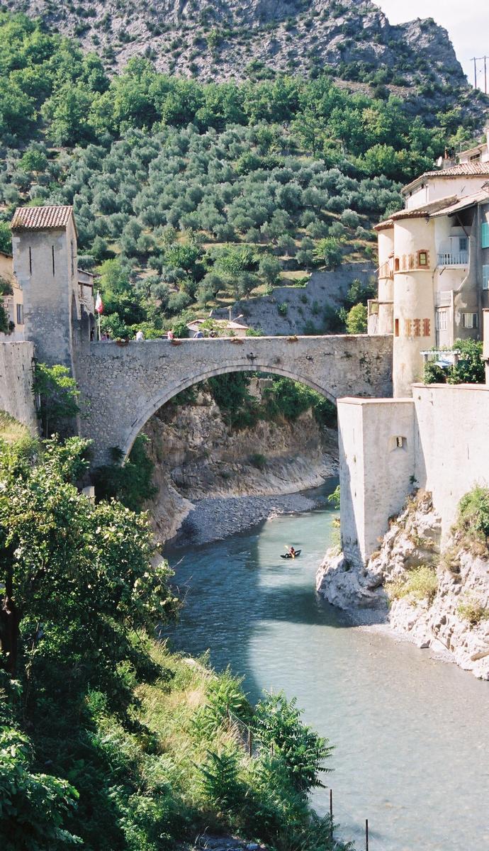 Pont de la Porte Royale, Entrevaux.