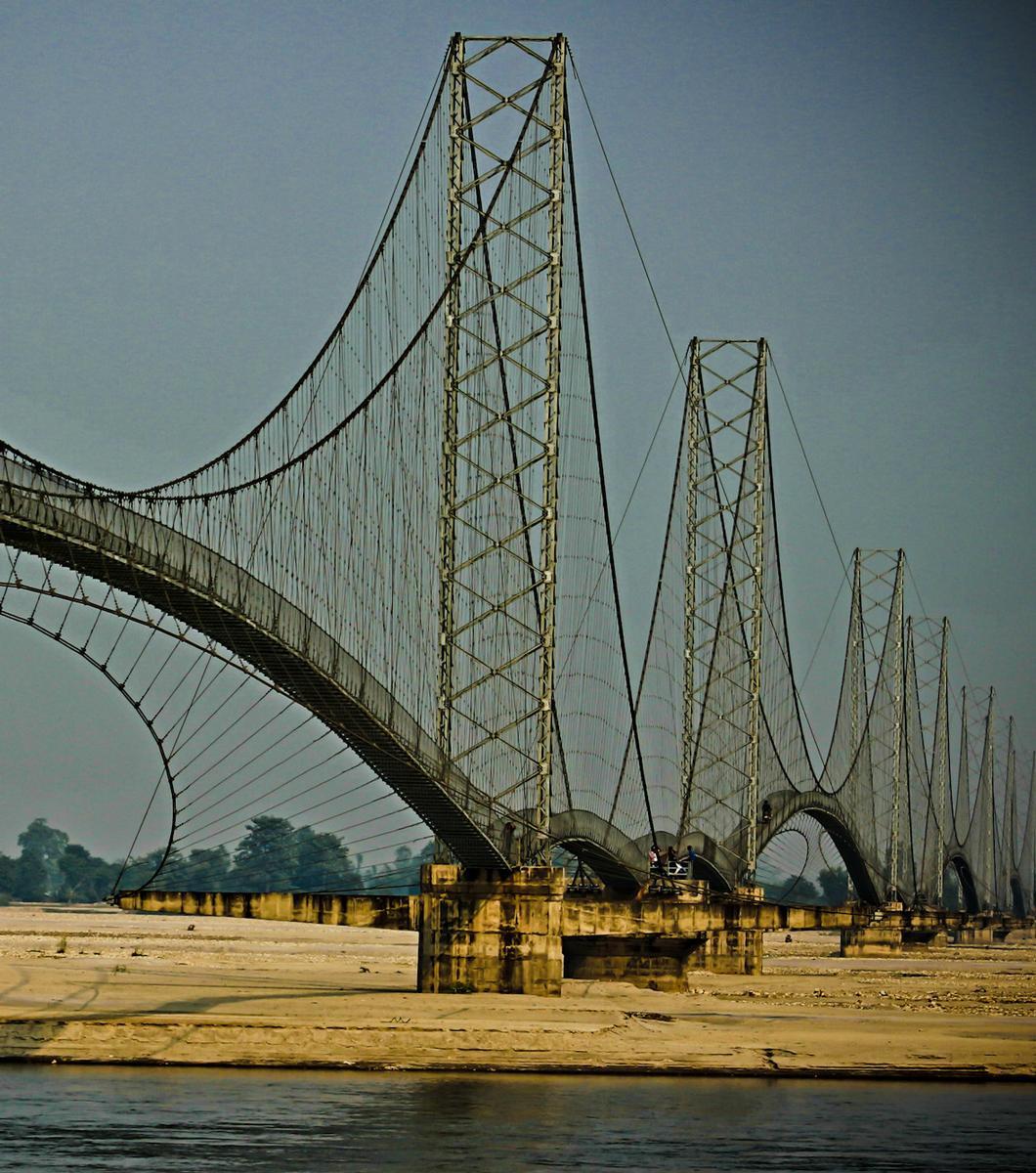 Dhodhara-Chandani Suspension Bridges