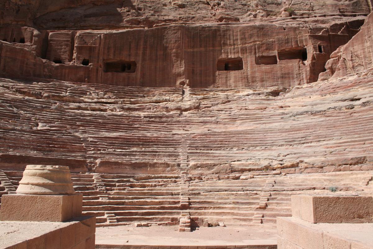 Théâtre romain de Petra