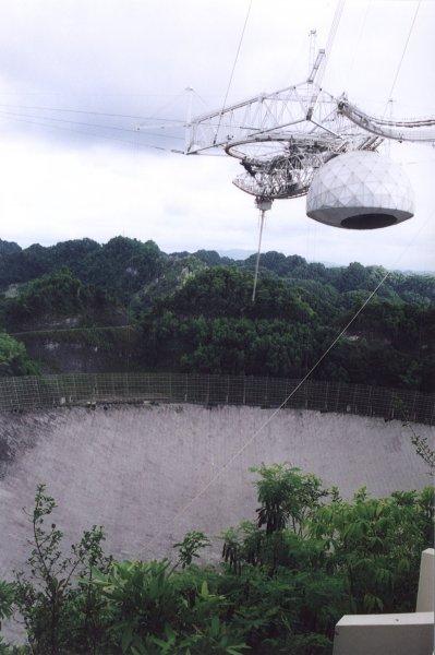 Arecibo Telescope, Puerto Rico.