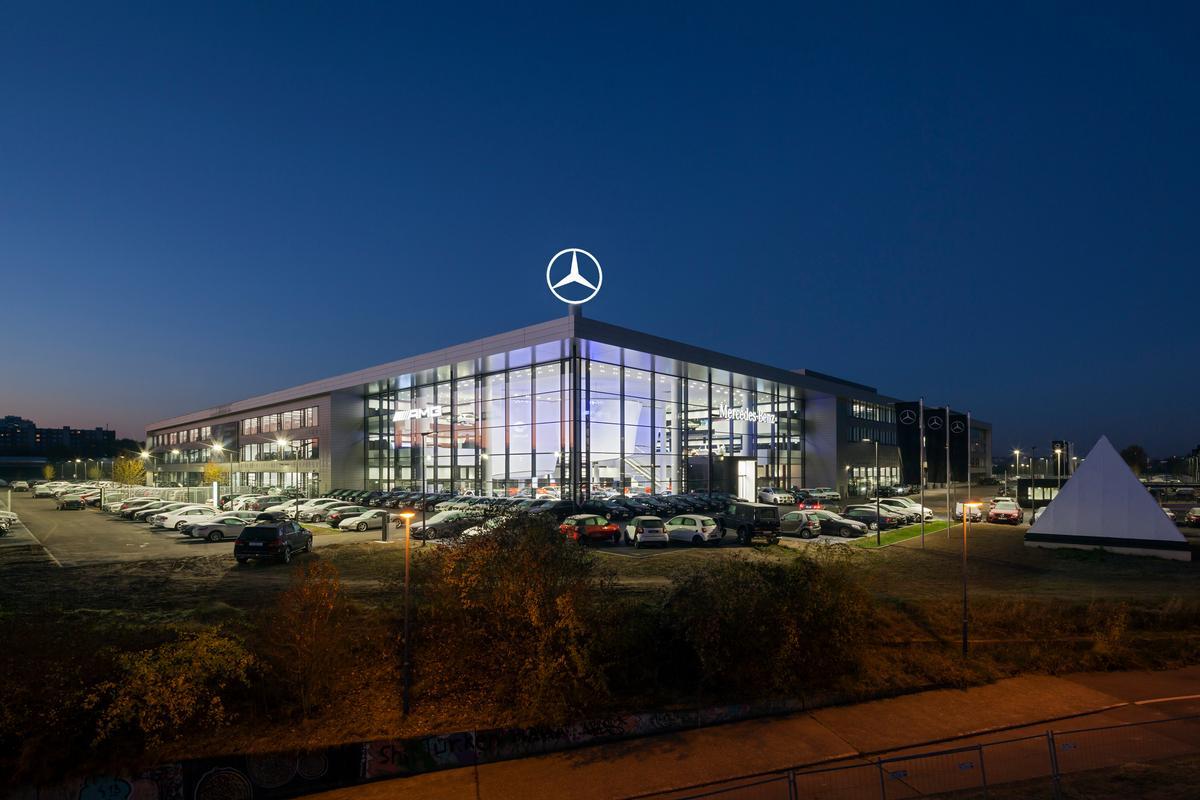Mercedes Benz Frankfurt Offenbach