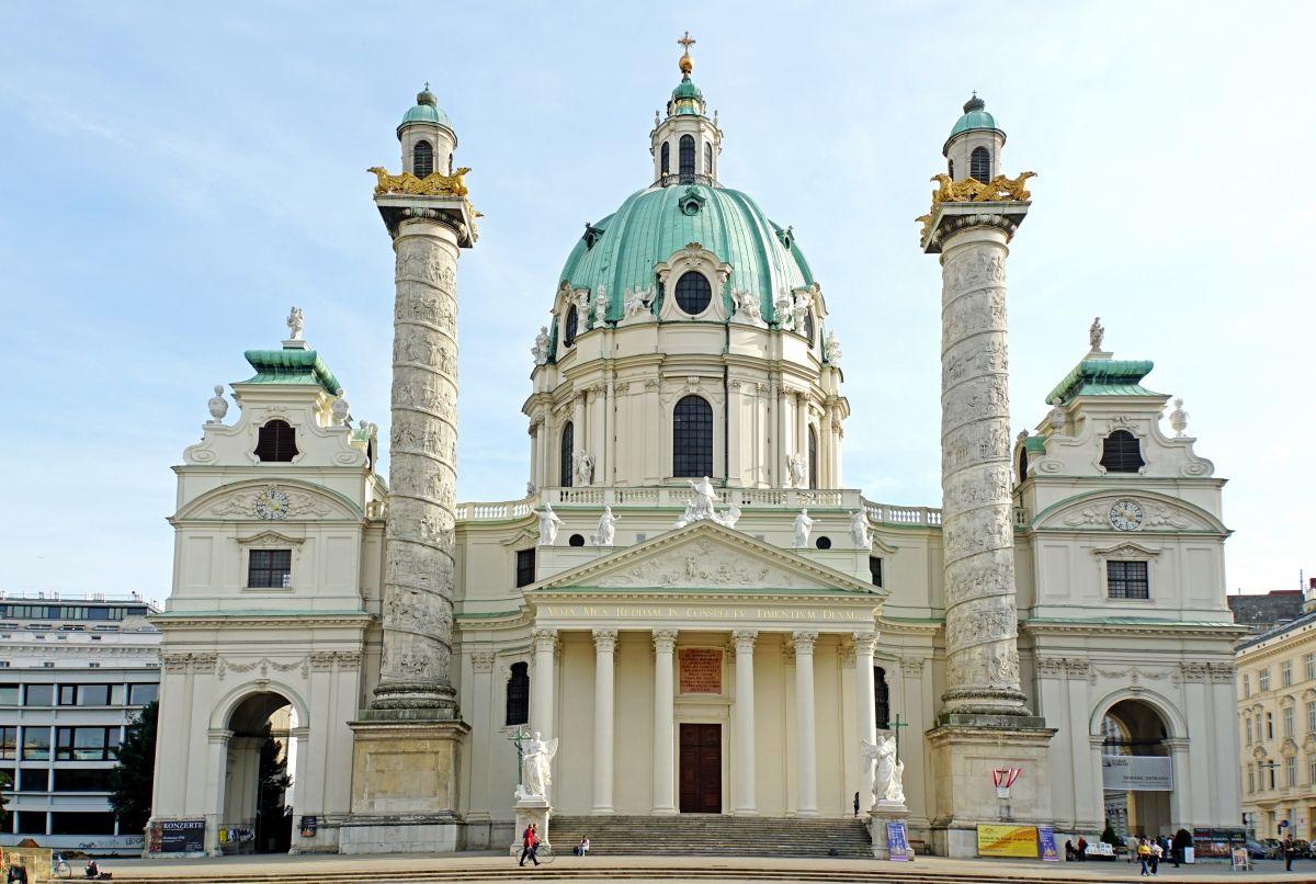 Saint Charles' Church (Vienna 4 (Wieden), 1739) | Structurae