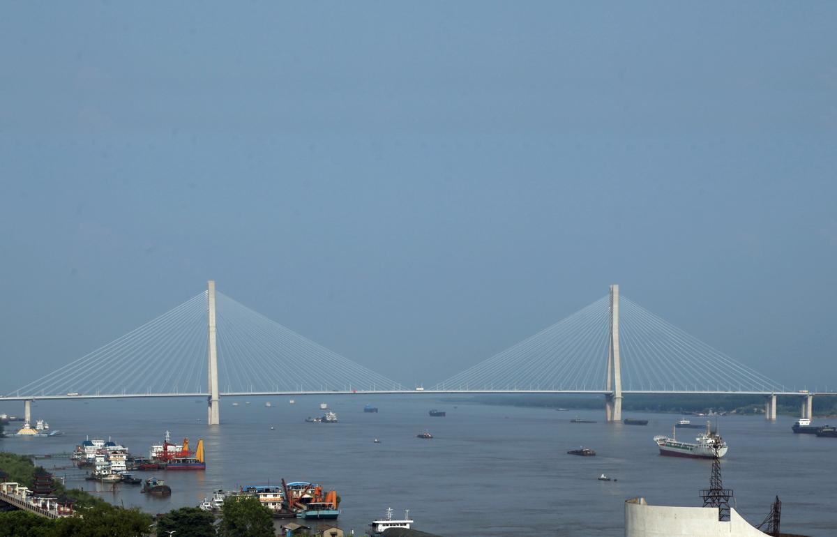 Jangtsebrücke Anqing
