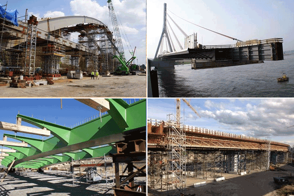 Bridges by erection or construction methods