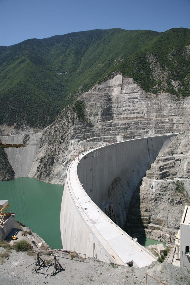 Staudamm Deriner