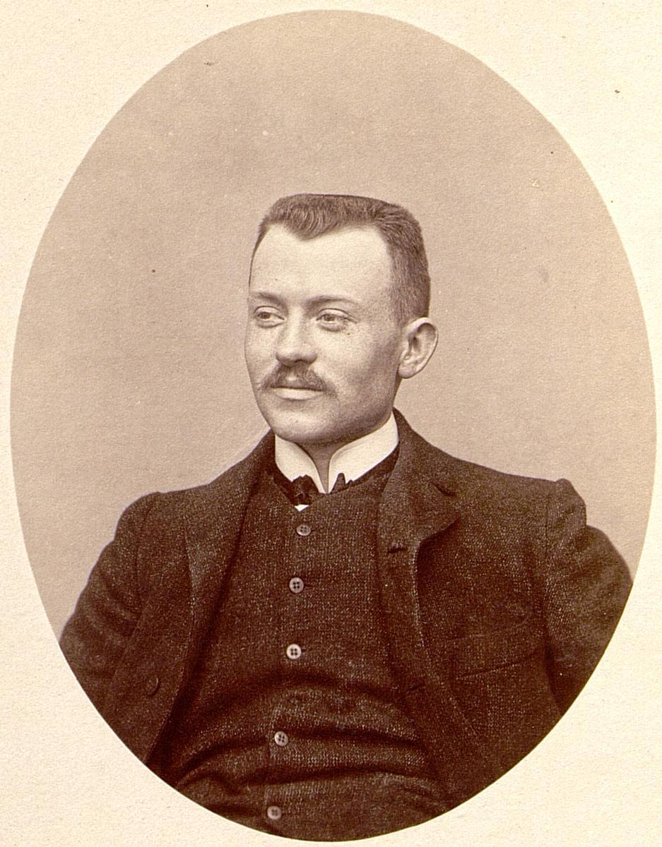 Eugène Freyssinet während seines Studiums an der École Nationale des Ponts et Chaussées