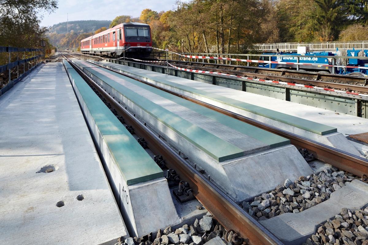 Eisenbahnüberführung Simmerbach