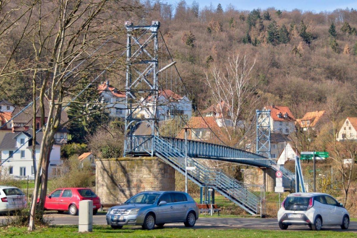 Hängebrücke Münden