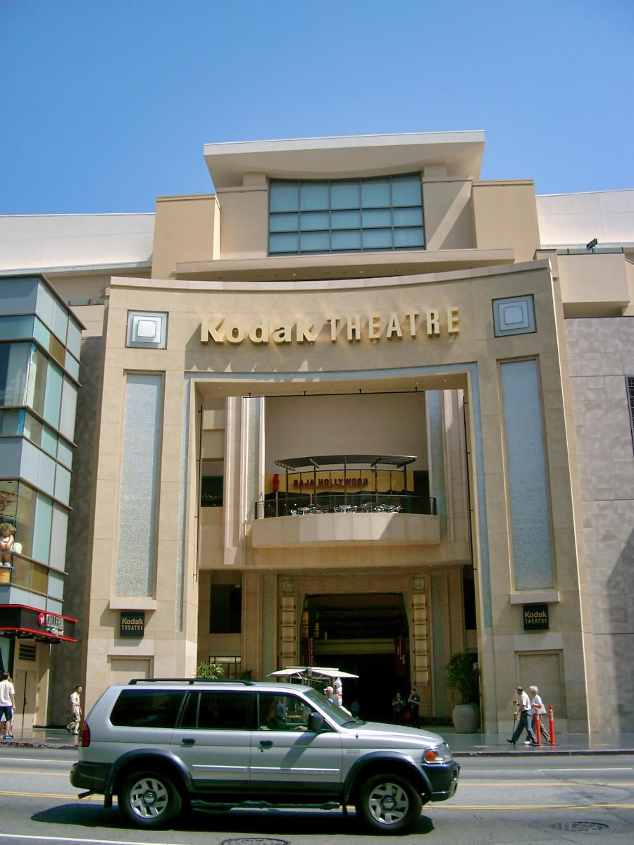 Kodak Theatre, Hollywood.