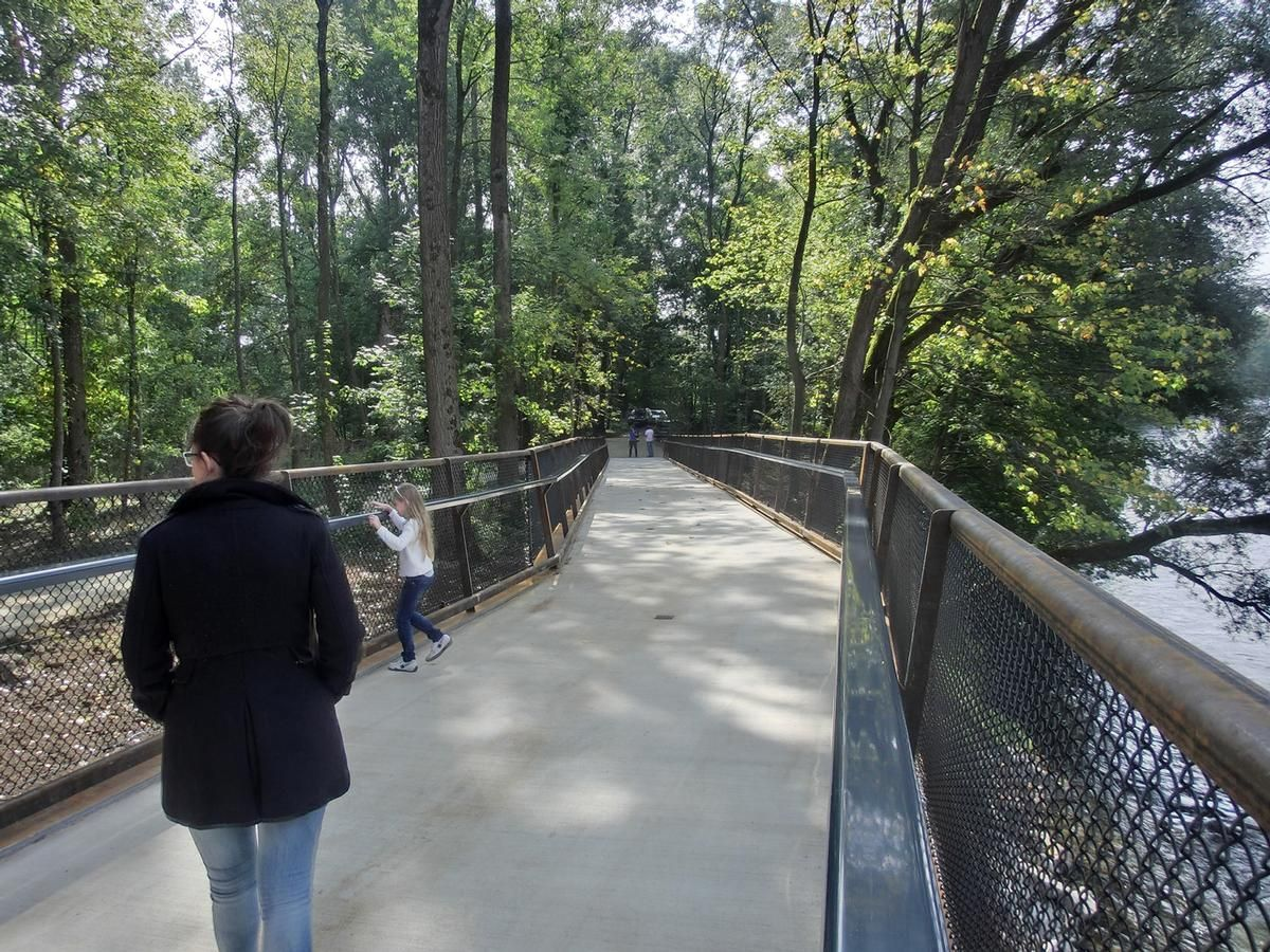 North Isar Footbridge