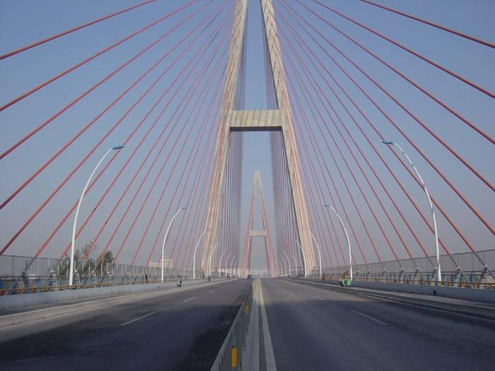Jinan Weiliu Road Bridge